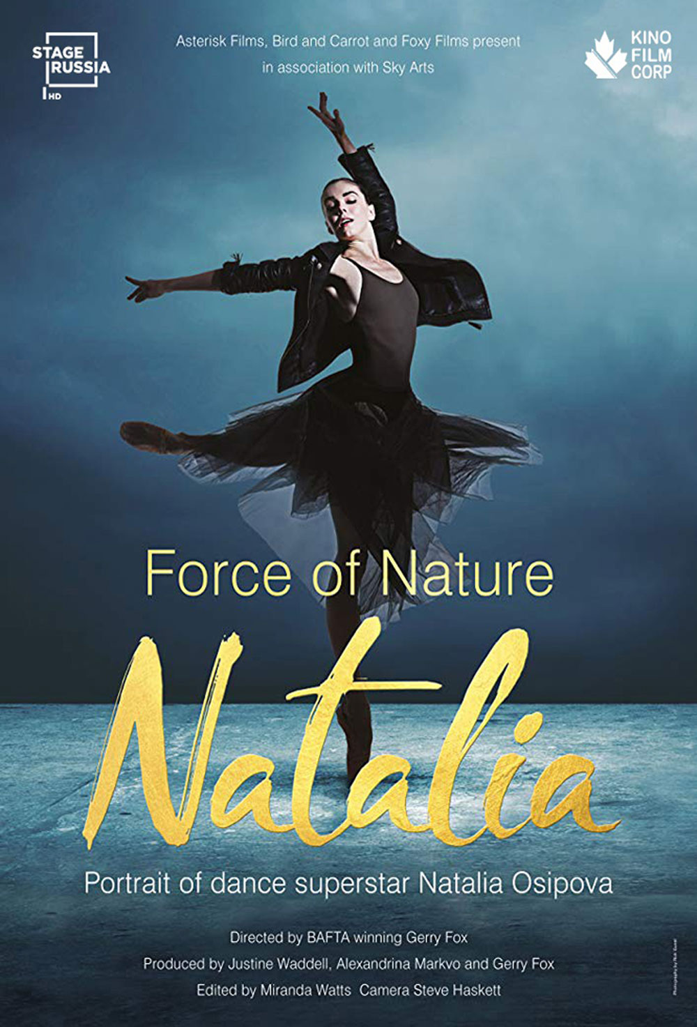 Natalia Force Of Nature - Film Poster